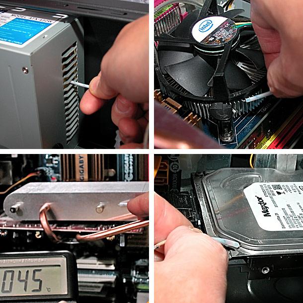 Как сделать температуру процессора